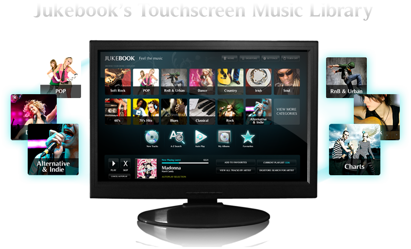 The Jukebook system